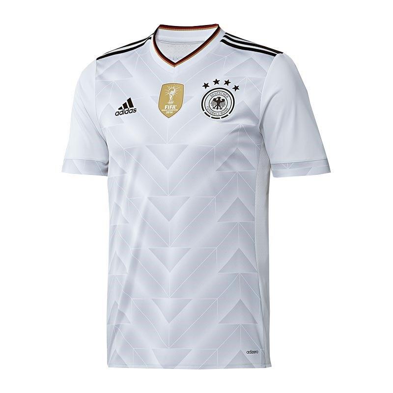 adidas DFB Deutschland Trikot Home 2017 Weiss - weiss