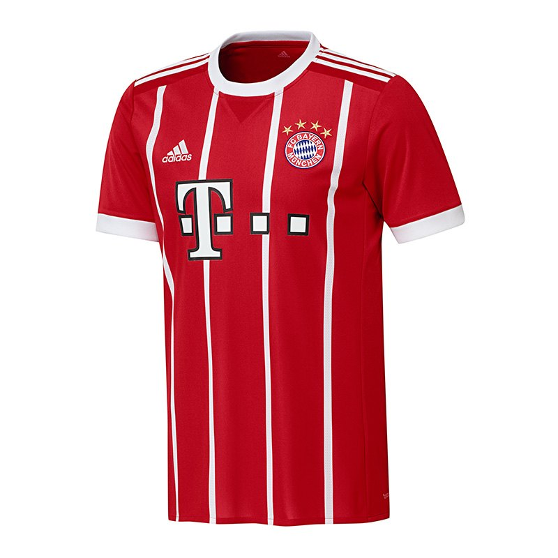 adidas fc bayern m nchen trikot home kids 17 18 fanshop heimtrikot ausw rtstrikot fcb. Black Bedroom Furniture Sets. Home Design Ideas