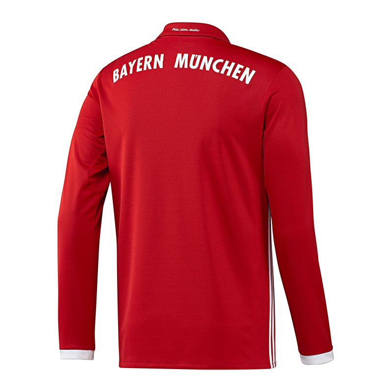 adidas fc bayern m nchen trikot home la 16 17 rot rot. Black Bedroom Furniture Sets. Home Design Ideas