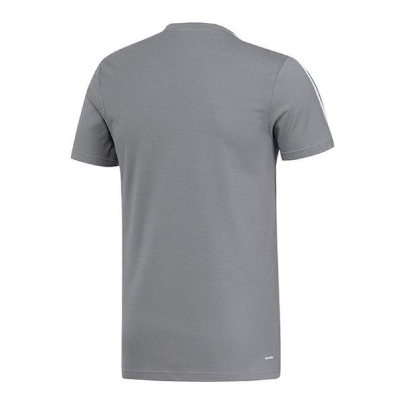 adidas manchester united tee t shirt grau weiss grau. Black Bedroom Furniture Sets. Home Design Ideas