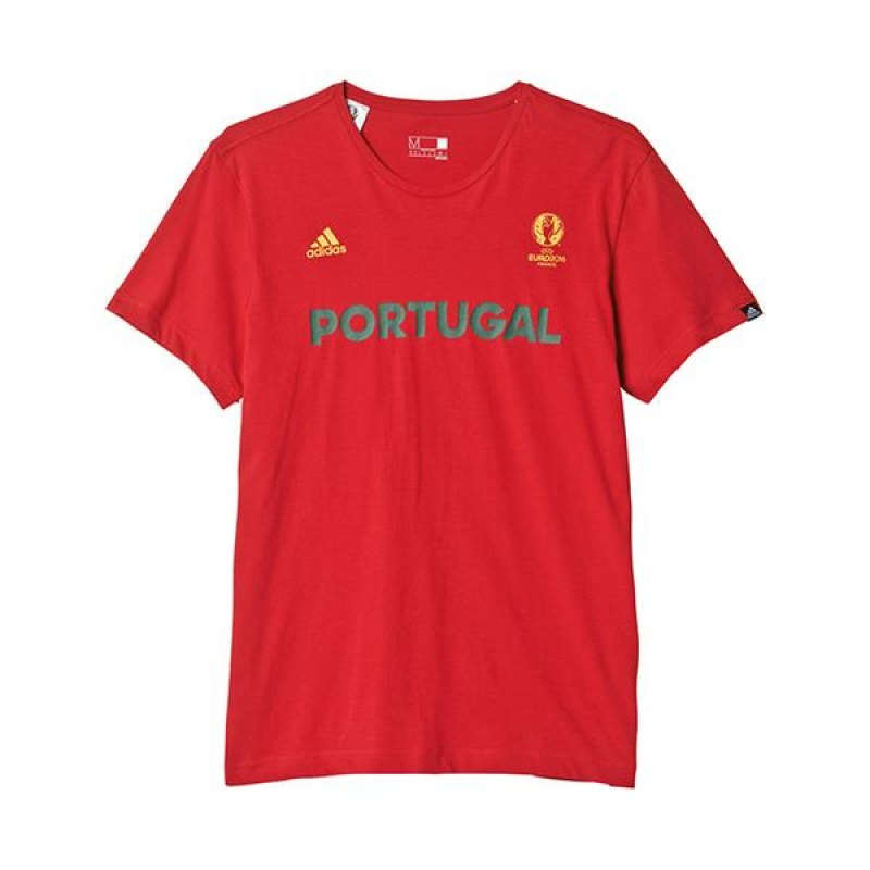 adidas portugal tee t shirt rot gr n rot. Black Bedroom Furniture Sets. Home Design Ideas
