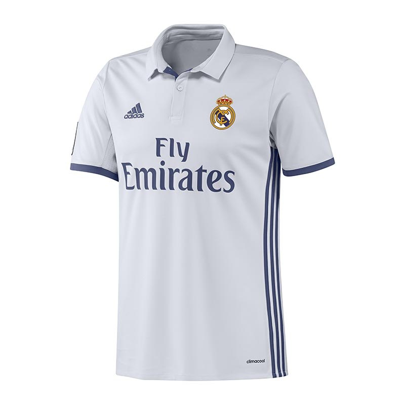 adidas Real Madrid Trikot Home 2016/2017 Weiss - weiss