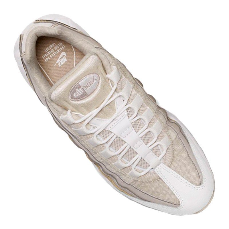 nike air max 95 sneaker damen beige rosa f015 lifestyle streetwear alltag kult. Black Bedroom Furniture Sets. Home Design Ideas