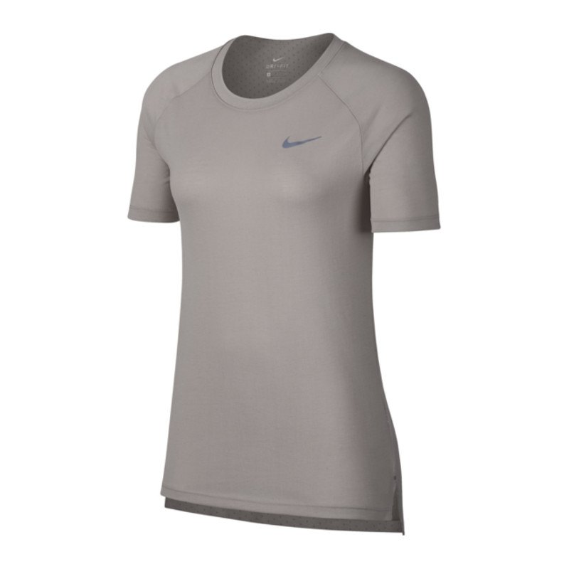 Nike Tailwind Top T-Shirt Running Damen Beige F215 - beige