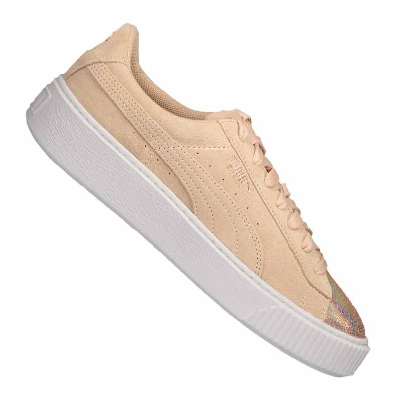 PUMA Suede Platform LunaLux Sneaker Damen F02 - beige