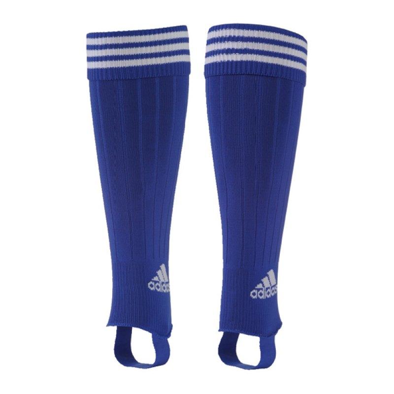 adidas 3-Streifen Stegstutzen Blau Weiss - blau