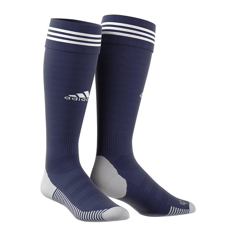 adidas Adisock 18 Stutzenstrumpf Dunkelblau - blau