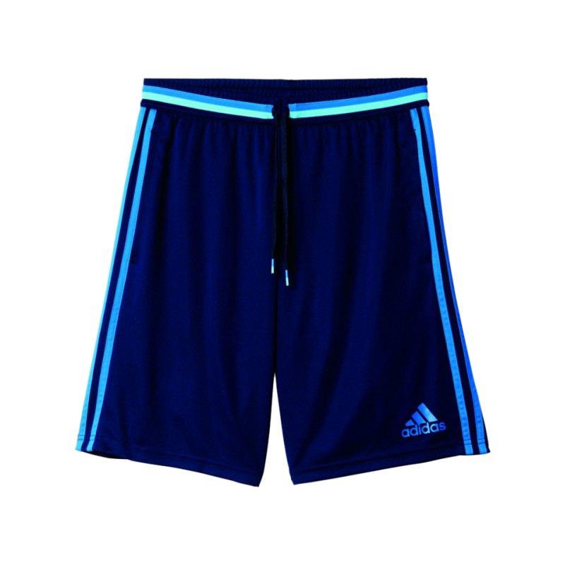 adidas Condivo 16 Trainingsshort Blau - blau