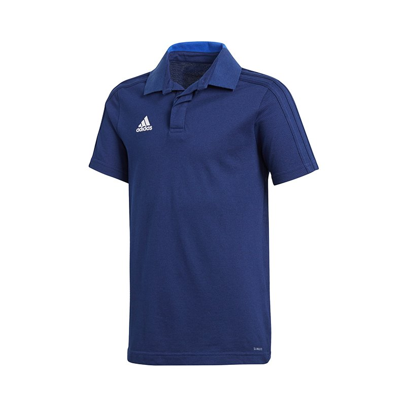 adidas Condivo 18 Poloshirt Kids Dunkelblau - blau