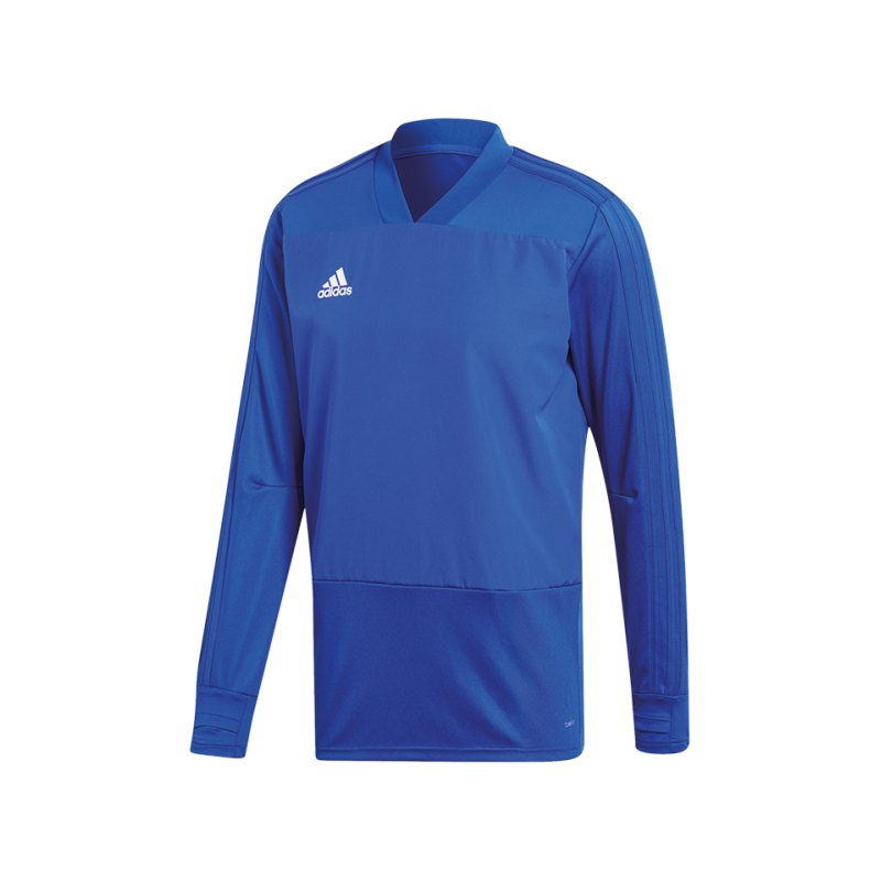 adidas Condivo 18 Sweatshirt Blau Weiss - blau