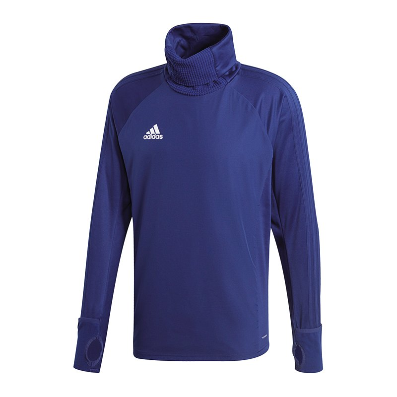 adidas Condivo 18 Warm Top Sweatshirt Dunkelblau - blau