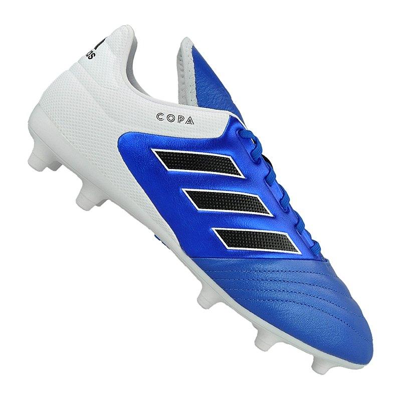 adidas COPA 17.3 FG Blau Schwarz Weiss - blau
