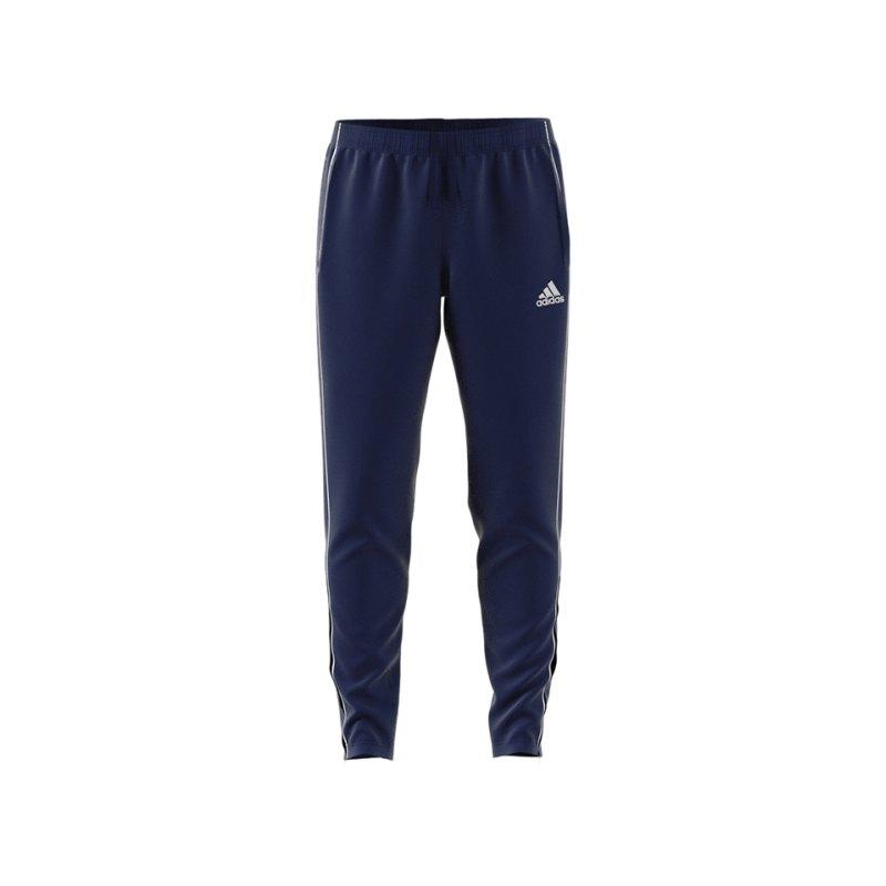 adidas Core 18 Training Pant Dunkelblau Weiss - blau