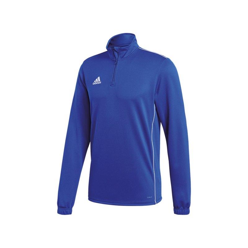 adidas Core 18 Training Top Blau Weiss - blau