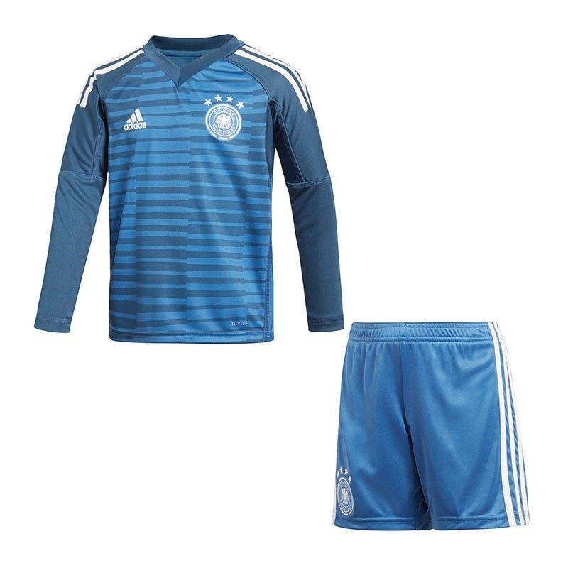 adidas DFB Deutschland Torwart Minikit Home WM18 - blau
