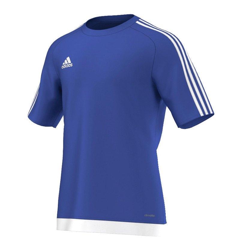 adidas Estro 15 Trikot kurzarm Blau Weiss - blau