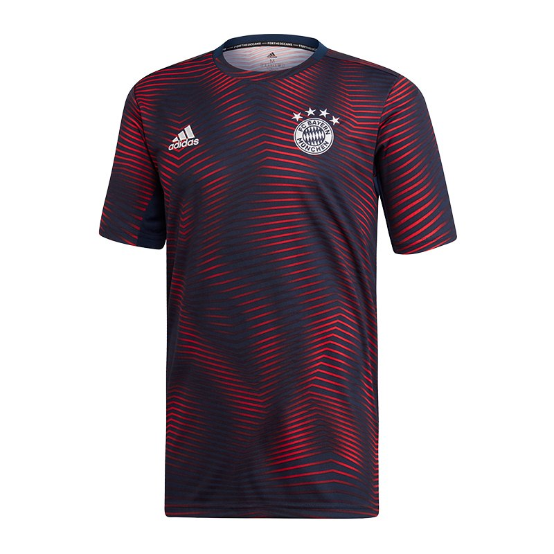adidas FC Bayern München Prematch Shirt Blau - blau