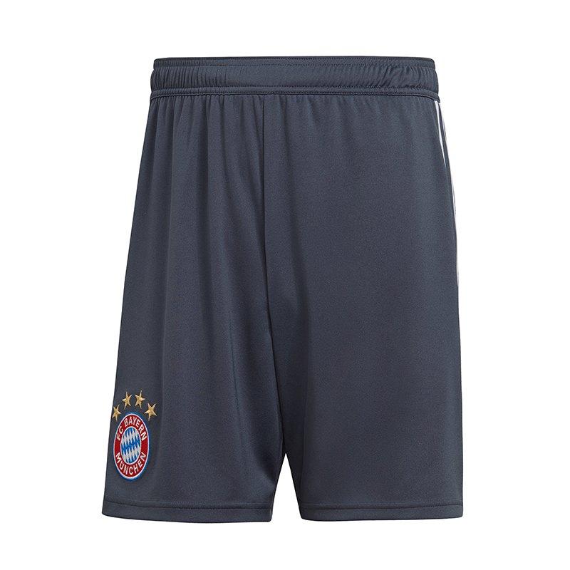 adidas FC Bayern München Short UCL 2018/2019 Blau - Blau