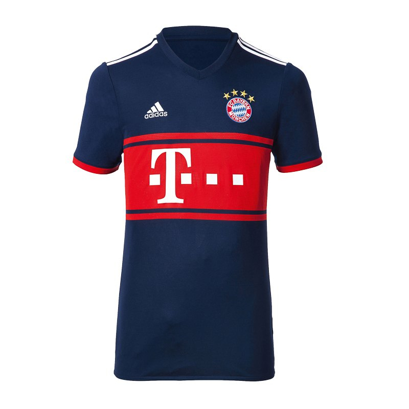adidas FC Bayern München Trikot Away Damen 2017/18 - Blau