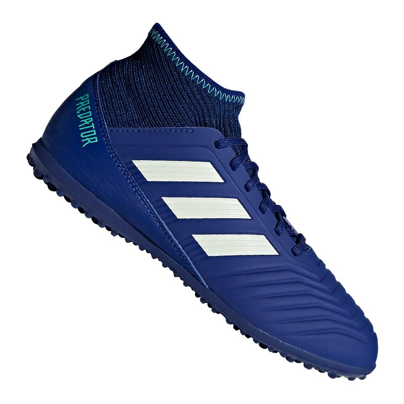 adidas Predator Tango 18.3 TF J Kids Blau Grün - blau