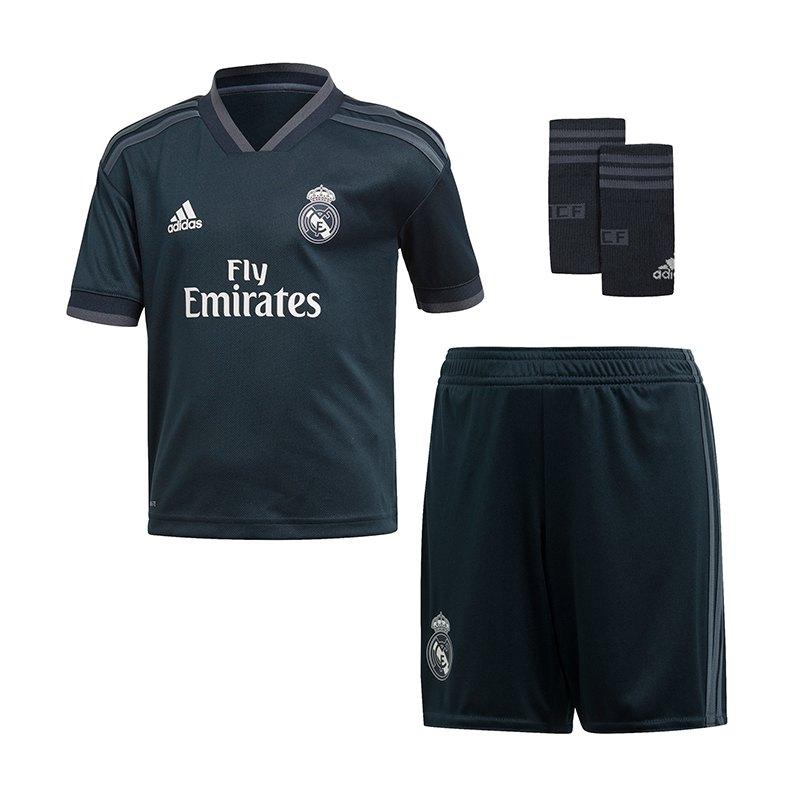 adidas Real Madrid Minikit Away 2018/2019 - blau
