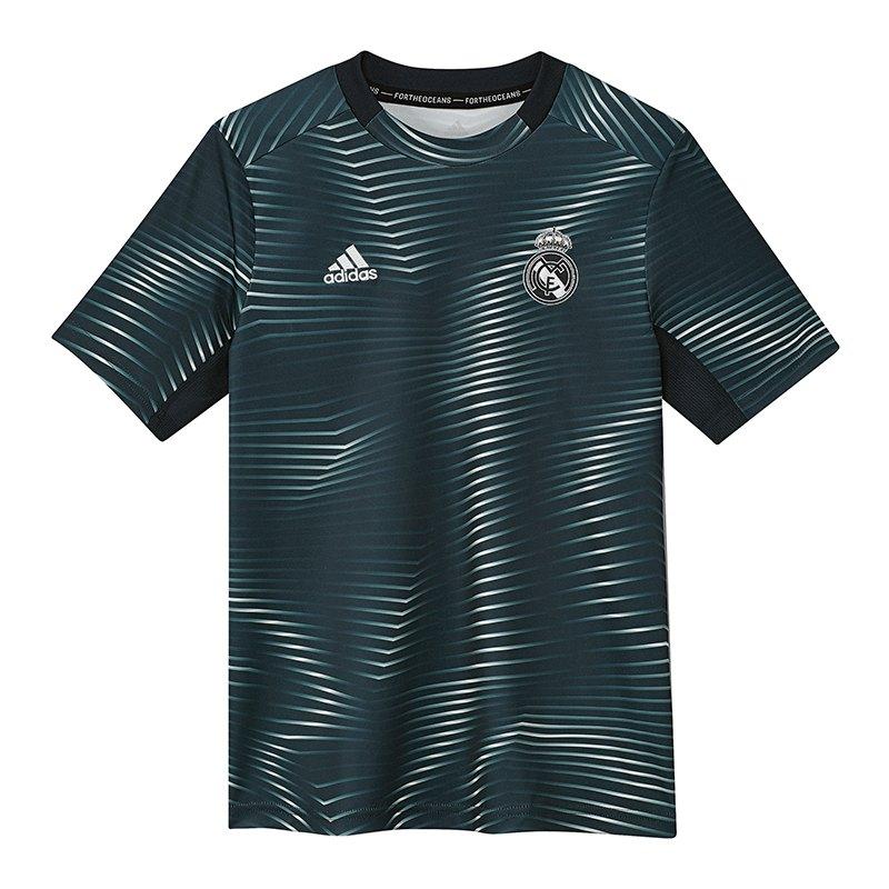 adidas Real Madrid Prematch Shirt Kids Blau - blau