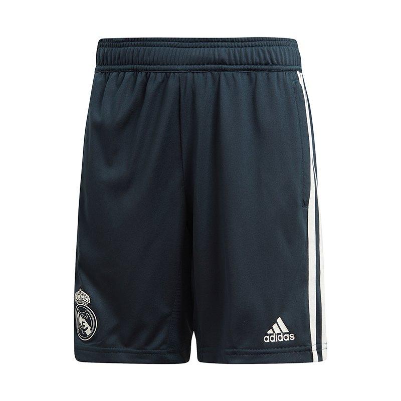 adidas Real Madrid Training Short Kids Blau - blau