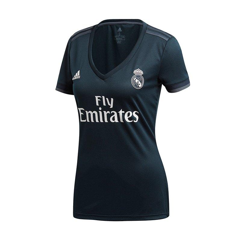 adidas Real Madrid Trikot Away Damen 2018/2019 - blau