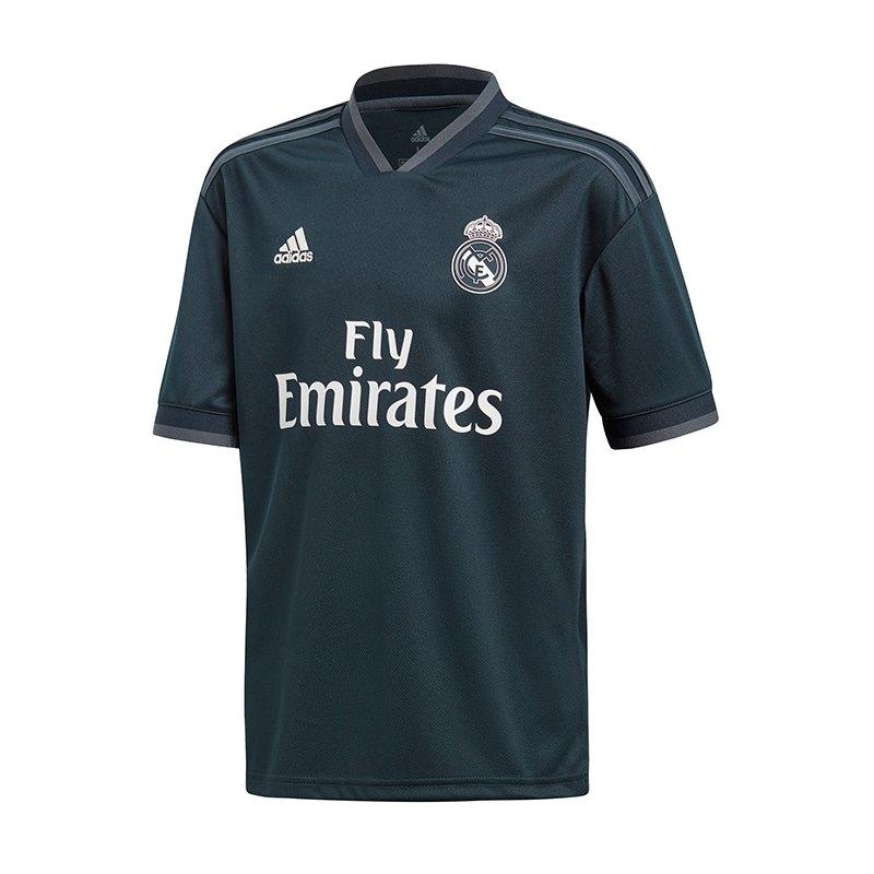 adidas Real Madrid Trikot Away Kids 2018/2019 - blau