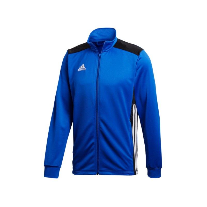 adidas Regista 18 Polyesterjacke Blau Schwarz - blau