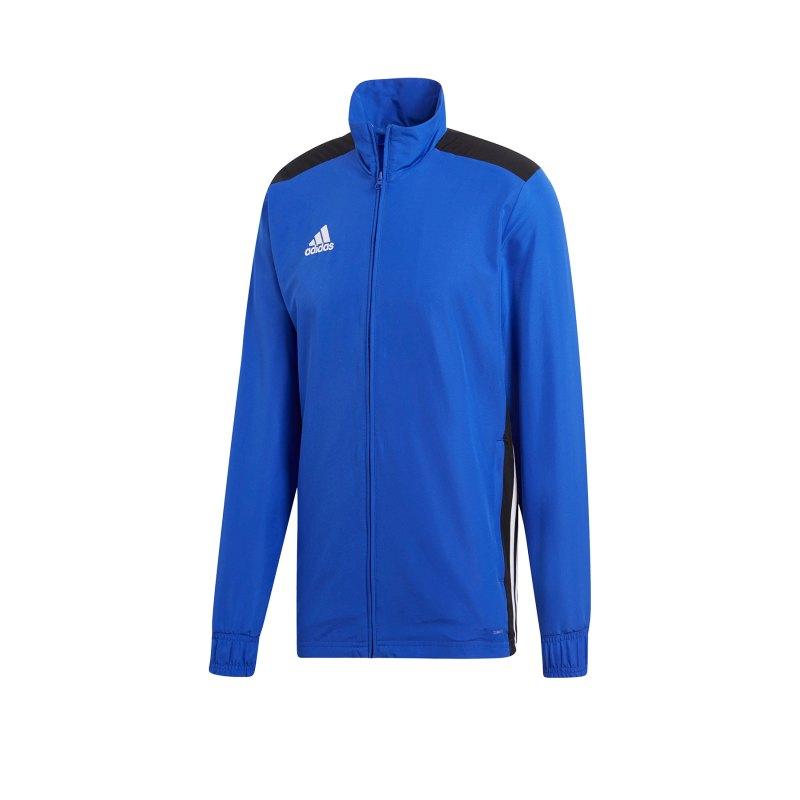 adidas Regista 18 Präsentationsjacke Blau Weiss - blau