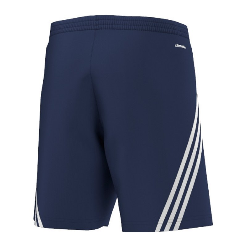 adidas sereno 14 training short hose kurz blau blau. Black Bedroom Furniture Sets. Home Design Ideas
