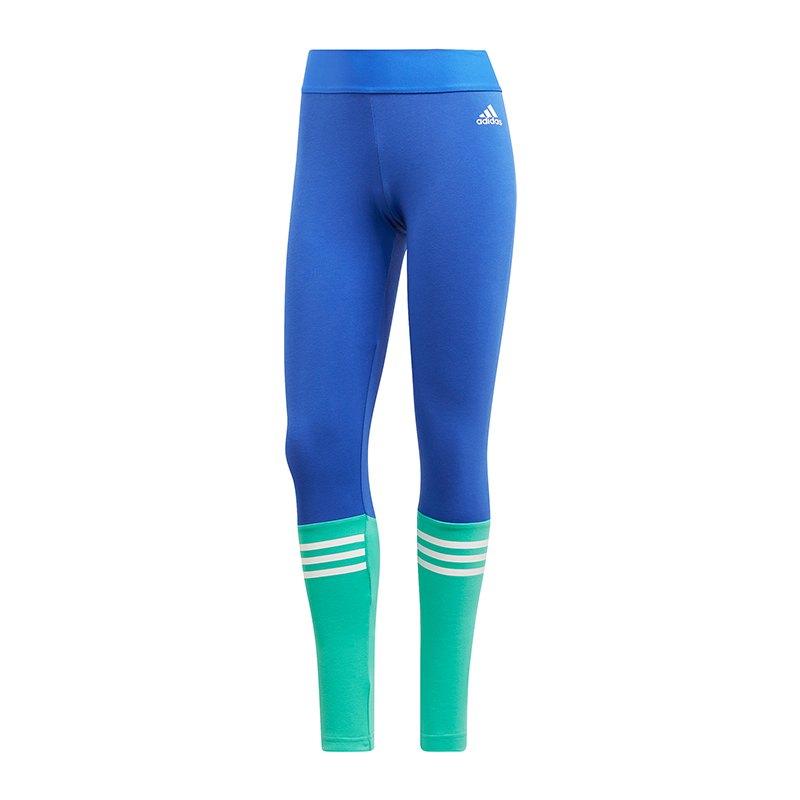 adidas Sport ID Tight Damen Blau Türkis - blau