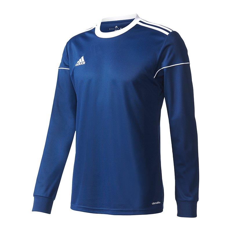 adidas Squadra 17 Trikot langarm Dunkelblau - blau