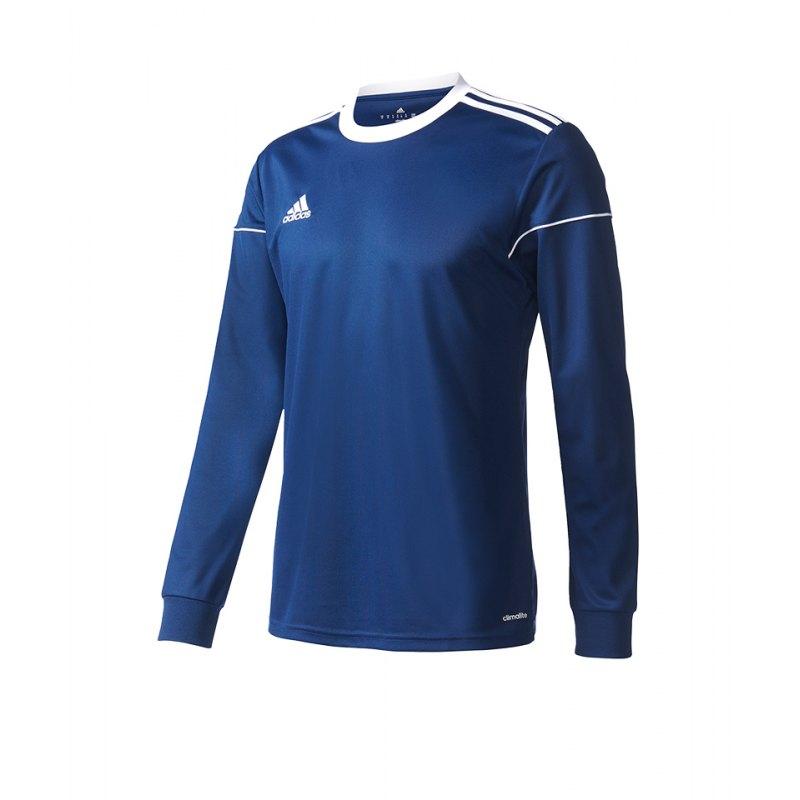 adidas Squadra 17 Trikot langarm Kids Dunkelblau - blau