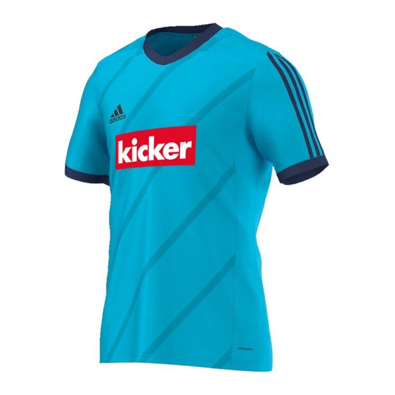 adidas Tabela 14 Trikot kicker Kids Hellblau - blau