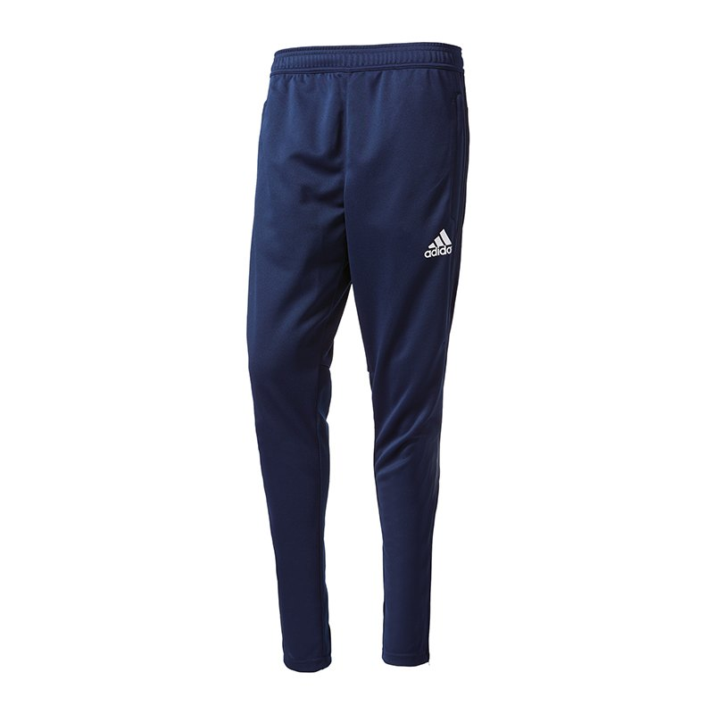 adidas Tiro 17 Training Pant Jogginghose Blau - blau