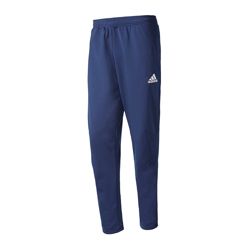 adidas Tiro 17 Trainingshose Blau Weiss - blau
