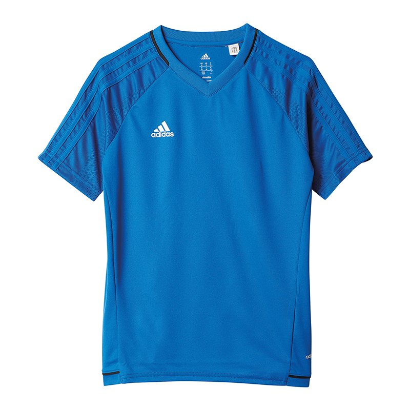 adidas Tiro 17 Trainingsshirt Kids Blau - blau