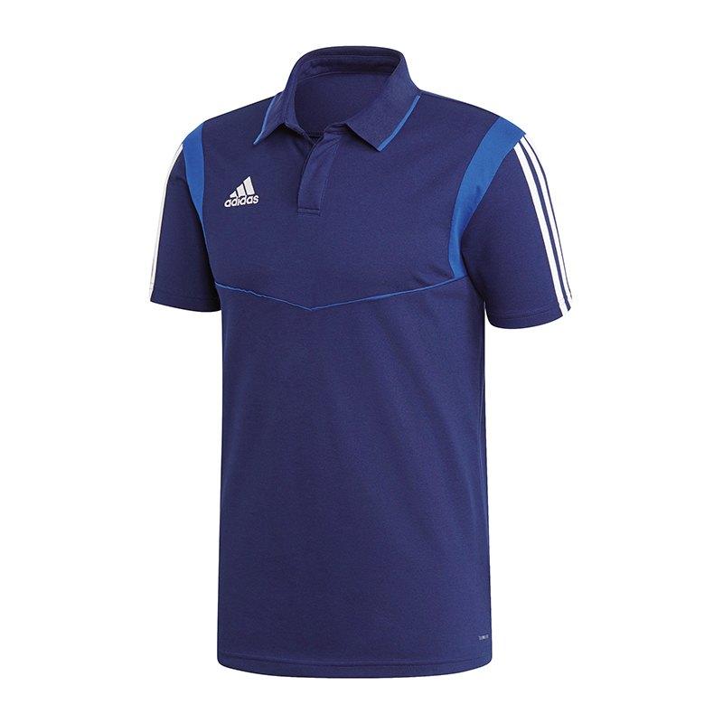 655572aabe7d adidas Tiro 19 Poloshirt Dunkelblau