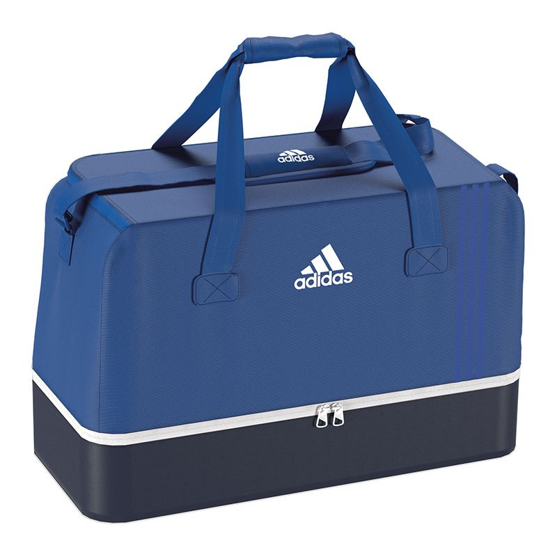 adidas Tiro Teambag Bottom Compart Gr. L Blau - blau