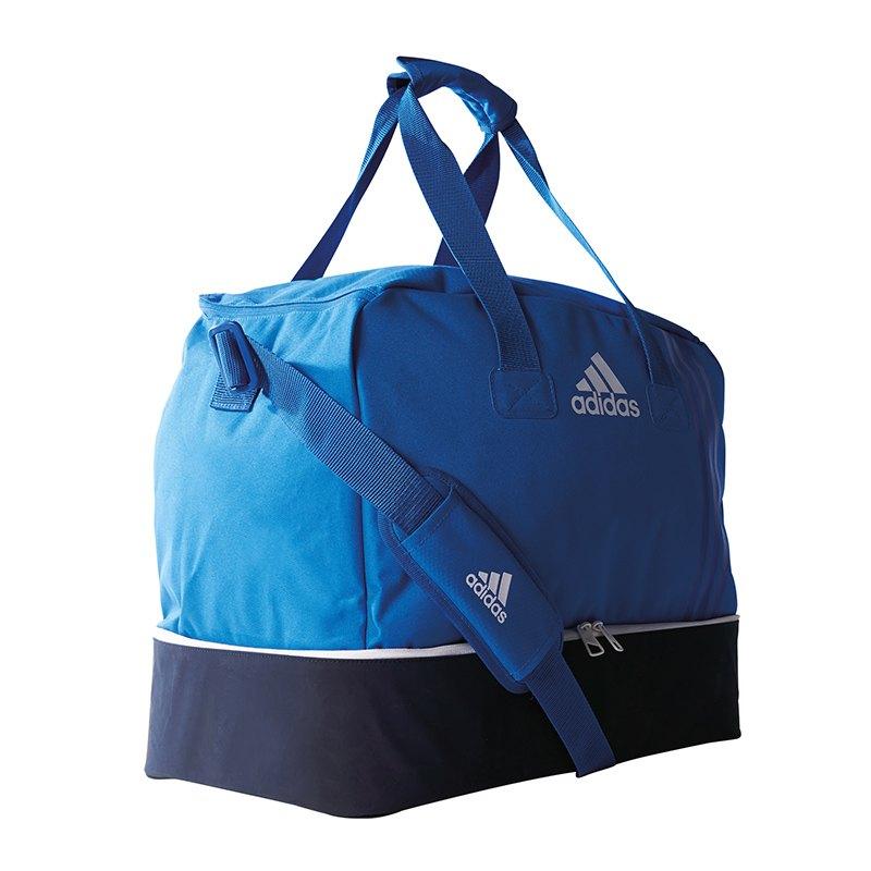 adidas Tiro Teambag Bottom Compart Gr. M Blau - blau