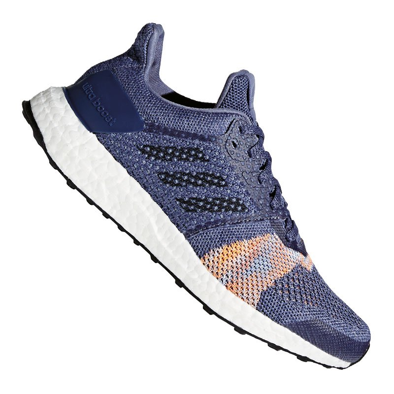 adidas ultra boost st running damen blau laufschuhe. Black Bedroom Furniture Sets. Home Design Ideas