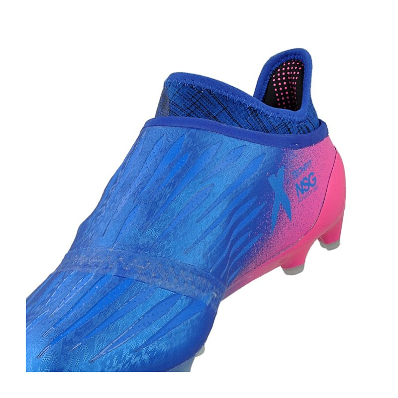 adidas x 16 purechaos fg blau weiss pink blau. Black Bedroom Furniture Sets. Home Design Ideas