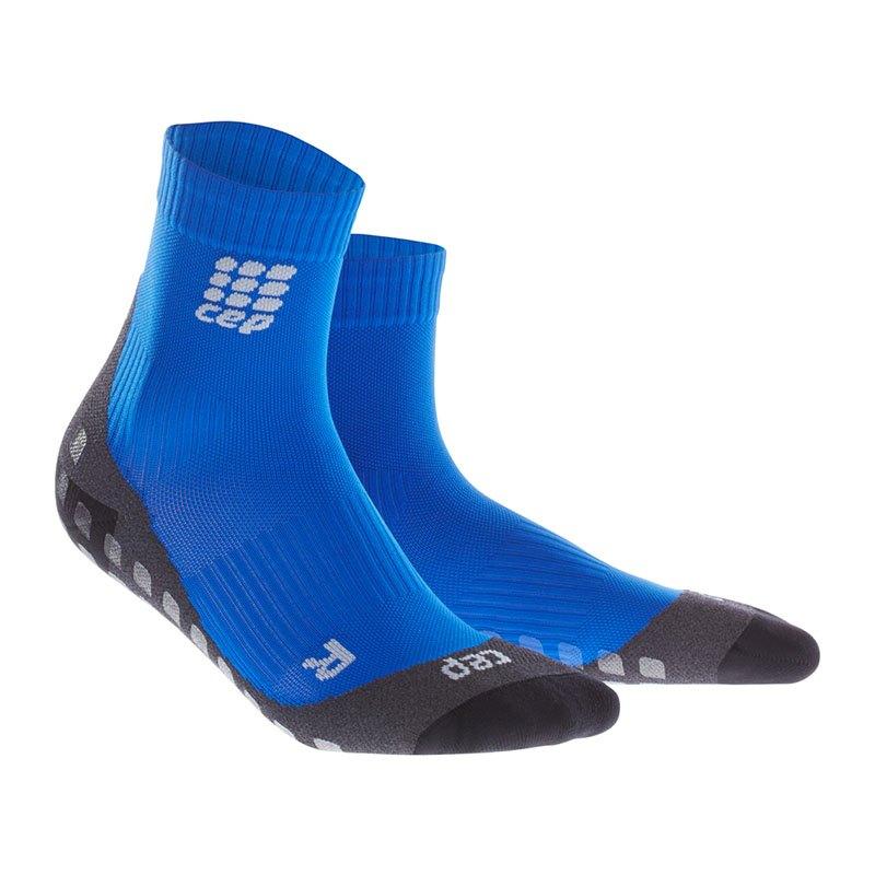 CEP Griptech Short Socks Damen Blau - blau