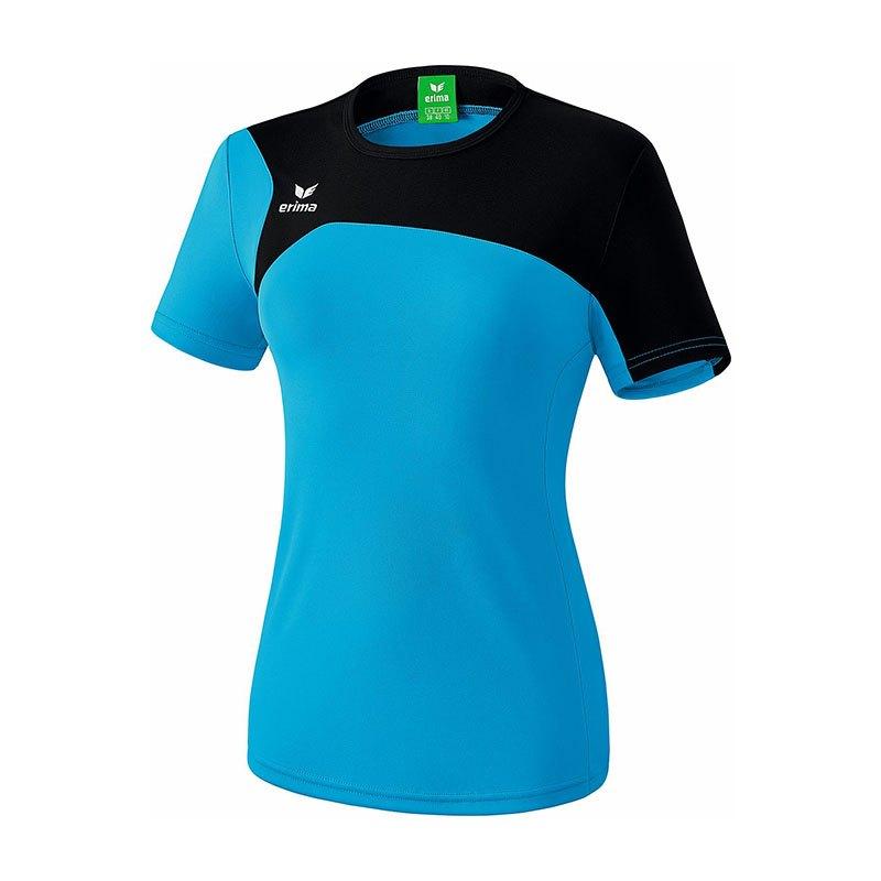 Erima Club 1900 2.0 T-Shirt Damen Blau Schwarz - blau