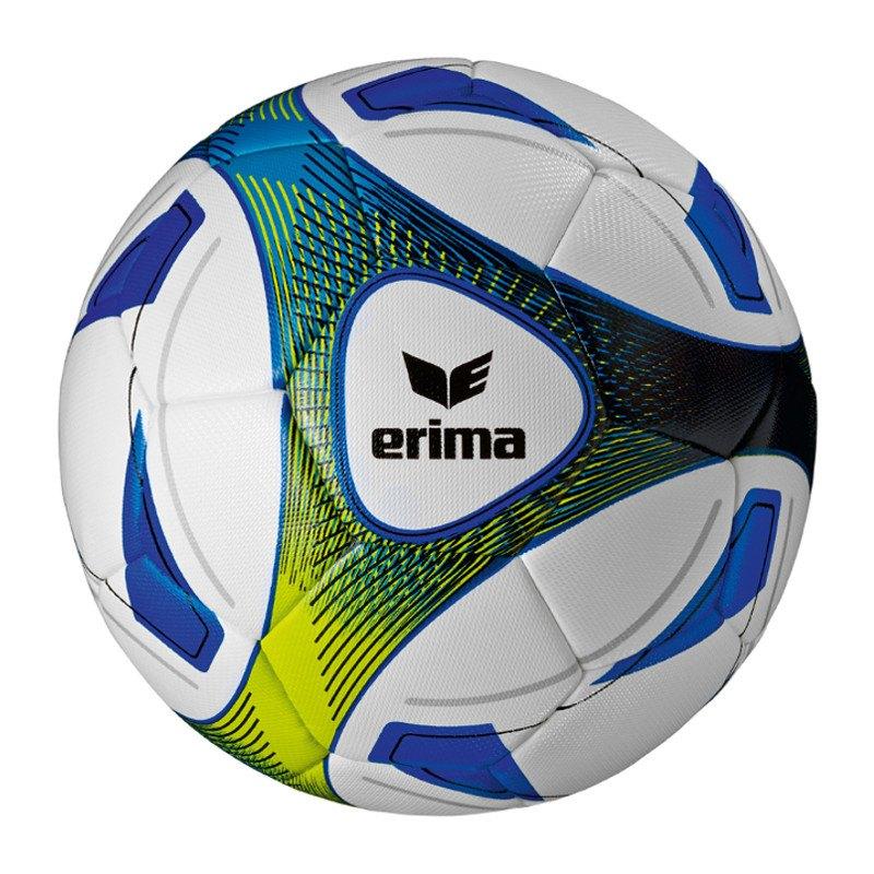 Erima Hybrid Training Fussball Blau Gelb - blau