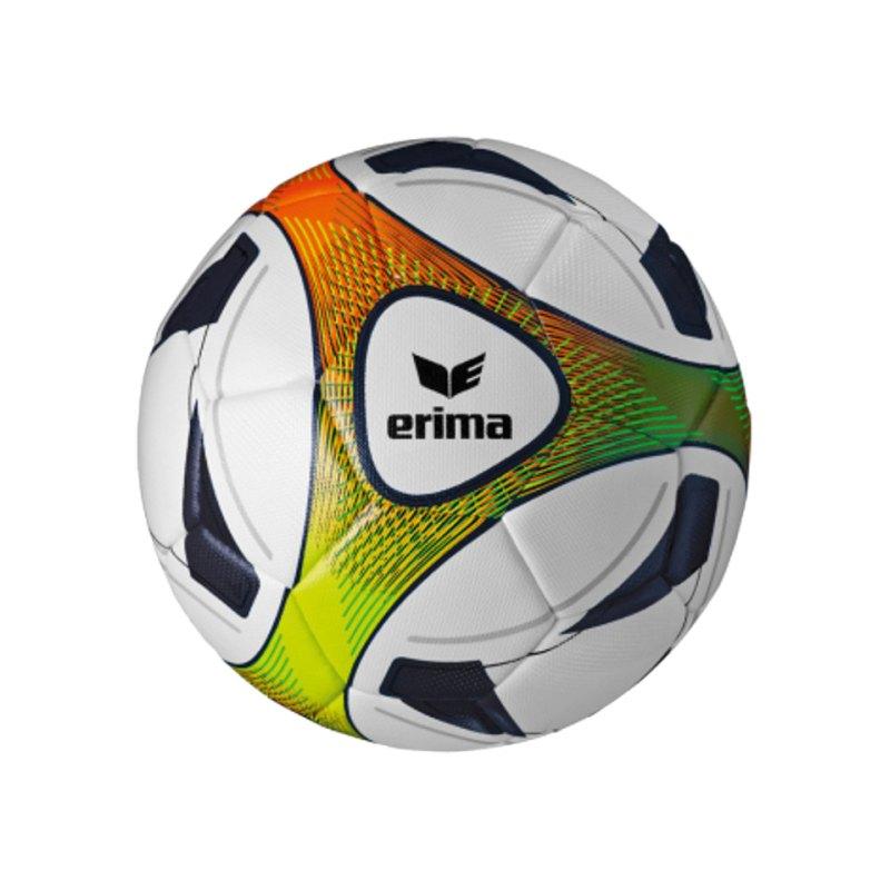 Erima Hybrid Training Fussball Gr. 4 Blau Grün - blau