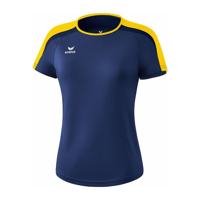 Erima Liga 2.0 T-Shirt Damen Blau Gelb - blau