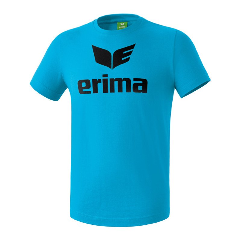 Erima Promo T Shirt Hellblau Blau